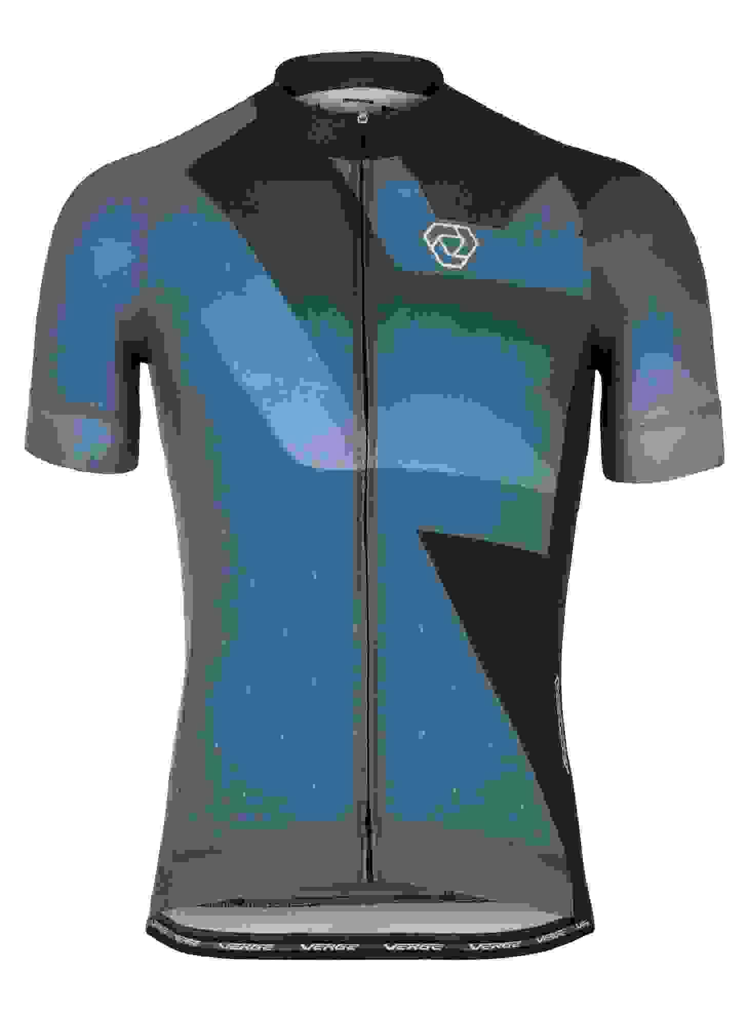 Details about  /Men/'s Verge 2008 Bike MS Cycling Jersey Black//Blue Size Small S